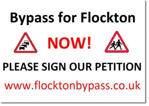 Flockton Bypass Banner - flocktonbypass.co.uk