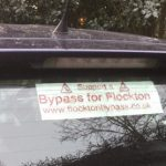 Car Window Sticker - flocktonbypass.co.uk