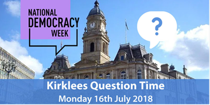 Kirklees Question Time - flocktonbypass.co.uk
