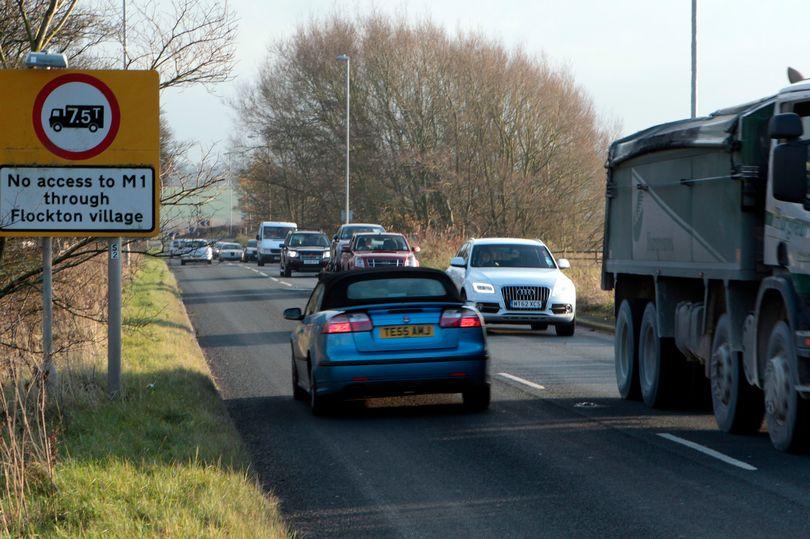 Road into Flockton - flocktonbypass.co.uk