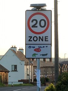 New 20 sign - flocktonbypass.co.uk