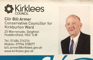 Bill Armer business card - flocktonbypass.co.uk