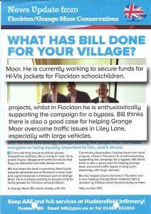 Bill leaflet Flockton - flocktonbypass.co.uk