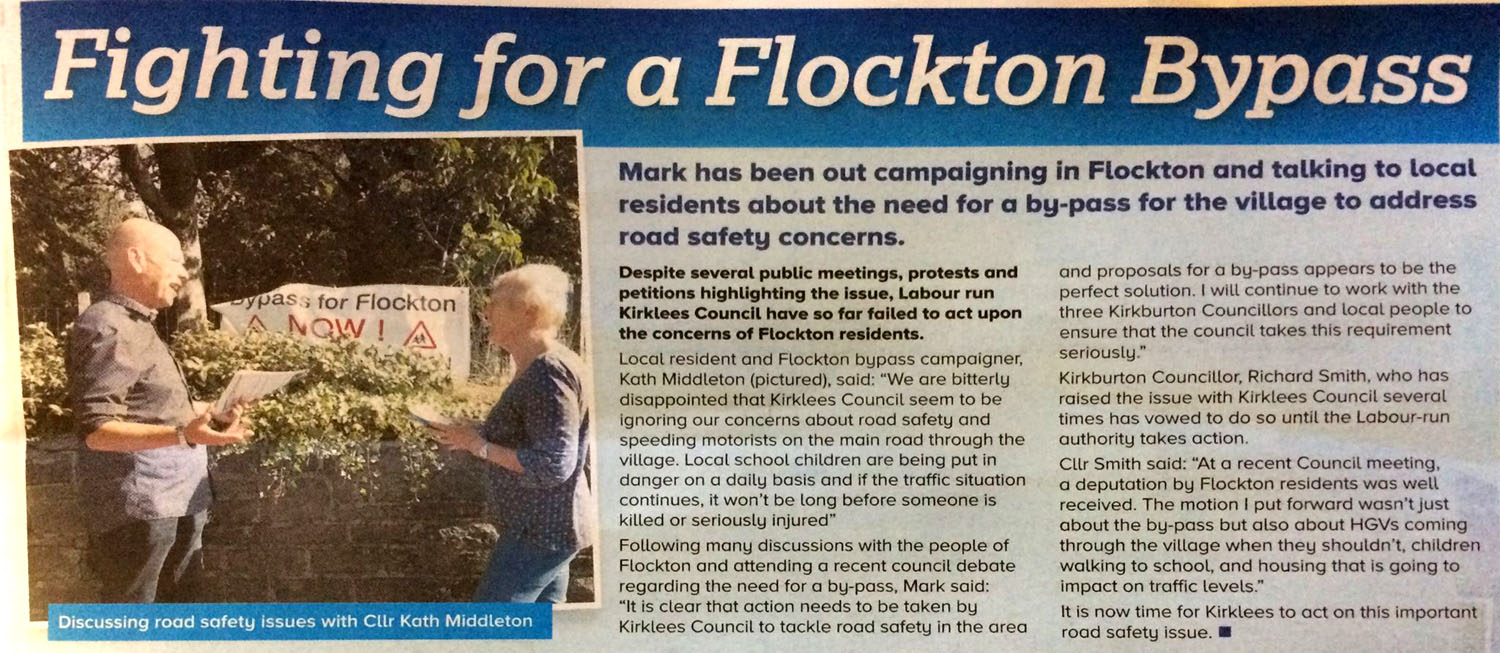 Fighting for a Flockton bypass - flocktonbypass.co.uk