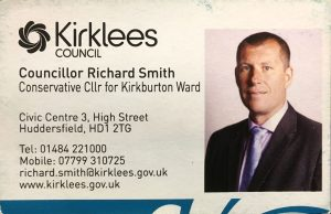Richard Smith business card - flocktonbypass.co.uk